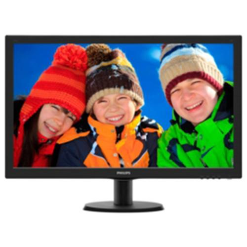 "27"" PHILIPS 273V5LSB/01 WIDE LED MONITOR FULL HD  SİYAH 5MS+DVI"