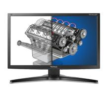 "27"" VIEWSONIC VP2765-LED  WIDE FULL HD SİYAH IPS LED MONİTÖR DVI+2XUSB+PİVOT"